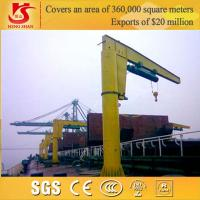 Wholesale Warranty 2 years Column Mounted 360 Rotating slewing jib crane 5t from china suppliers