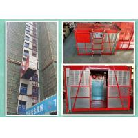 Wholesale Rack And Pinion Twin Cages Goods Lift Manufacturers , Construction Material Hoist Lift from china suppliers