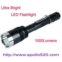 Wholesale Ultra Bright LED Flashlight Torch 1000Lumens from china suppliers