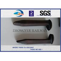 Wholesale AREMA Standard  Railroad Spike Types Dog Spike & Screw Spike Rail Fasteners from china suppliers