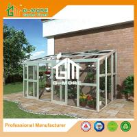 Wholesale 242 X 315 X 237CM  White Color 8mm Thick Polycarbonate Aluminum Greenhouse from china suppliers