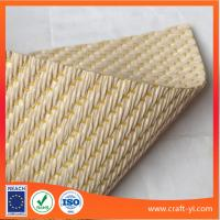 Wholesale Textilene PVC coated woven fabric for DIY or hat PP woven fabric from china suppliers