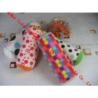 Wholesale Soft Pu Leather Roll Cushion Candy Bolster Pillows , Kids Decorative Pillows from china suppliers