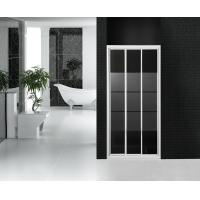 Wholesale Partition Bathroom Shower Stall Sliding Glass Doors Frost Glass With Stripes from china suppliers