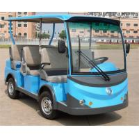 Wholesale Multi Color Electric Passenger Bus , Multi Passenger Golf CartsWith 8 Seater Energy Saving from china suppliers
