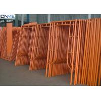 Wholesale Customized Frame Size Shoring Scaffolding Systems High Strength Steel Tubing from china suppliers