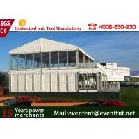 Wholesale Double Decker Marquee tent For Wedding , House Shaped Tent Anti UV Easy Assemble from china suppliers