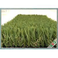 Quality 35 MM Pile Height Outdoor Artificial Grass Highly Durable Under Constant Pressure for sale