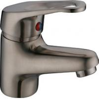 Wholesale Brushed Nickel Antique Basin Mixer Faucet Taps with One Handle , Euro Style from china suppliers