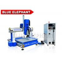 Quality Hightech 1212 ATC CNC Mini Wood Cutter Machine High Z Travel For Industrial for sale