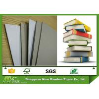 Wholesale Laminated Duplex Paper Board Grey Back Book Binding Cover Board 0.49mm - 4mm from china suppliers