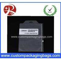 Wholesale Button Zipper Pvc Cosmetic Bag , Pvc Clothing Bag 0.1MM TO 0.2MM Thick from china suppliers