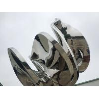 Wholesale Abstract Metal Garden Sculptures And Ornaments Mirror Polished Finishing from china suppliers
