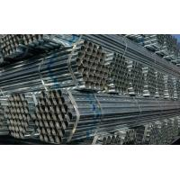 Wholesale ASTM A53, BS1387, DIN2244 ERW Black / Galvanized / oil coated GB Welded Steel Pipes / Tube from china suppliers