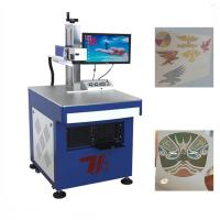 Wholesale Eco Friendly Fiber Laser Color Engraver / Laser Marking Machine For Non - Metal from china suppliers