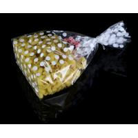 Quality Moisture Proof Clear Gusset OPP Plastic Packaging Bags Square Bottom For Candy Packaging for sale