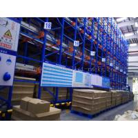 Wholesale Semi Autometic Heavy Duty Radio Shuttle Racking System for Industrial Storage Management from china suppliers