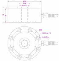 small size pancake load cell