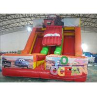 Wholesale Party Game Equipment Inflatable Dry Slide Super Car Shaped 0.55m PVC For Kids from china suppliers