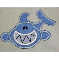 Wholesale Iron On Applique Shark Embroidery Patch from china suppliers