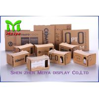 Wholesale OEM Virtual Reality Cardboard Box Version VR BOX 2 . 0 Virtual Reality 3D Glasses from china suppliers