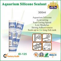 Quality General Purpose Glass Silicone Adhesive Sealant For Aquarium Sealing for sale