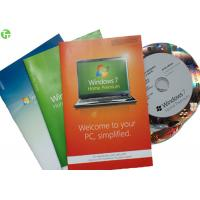 Wholesale In Stock Windows 7 Softwares , Windows 7 Box Retail Version Original Stable from china suppliers