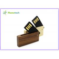 Wholesale MINI memory stick pendrive wooden rotatable usb flash drive 4GB 8GB memory card from china suppliers