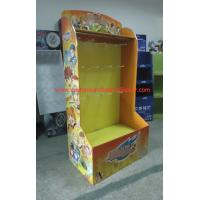 Buy cheap Point of sale Retail Pallet Display with hooks for toys , Foldable AND Strudy from wholesalers