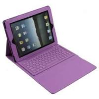 Wholesale Portable Stylish Waterproof Purple ipad2 3 bluetooth keyboard cases for students from china suppliers