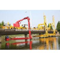 Wholesale Dongfeng 8x4 18M Bucket Type Under Bridge Inspection Vehicle / Truck DFH1310A1 from china suppliers