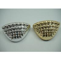 Wholesale Durable Golden / Plated Silver Toe Cap Round Shape Footwear Accessories from china suppliers