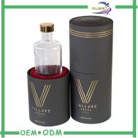 Wholesale Water Proof Custom Paper Tube Box For Wine Packaging With End Caps from china suppliers