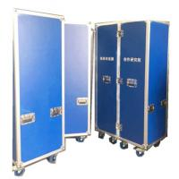 Wholesale Customized Durable Symmetrical Folding Rack Flight Case With Wheels from china suppliers