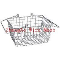 Wholesale metal shopping baskets factory from china suppliers