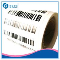 Wholesale Serial Number Barcode Label , Adhesive Barcode Stickers Print In sheet Form from china suppliers