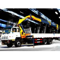 Wholesale Truck mounted hydraulic crane 40L / min 8TON  Mobile knuckleboom crane from china suppliers