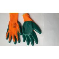 Wholesale Nitrile Coated Safety Work Glove,Nitrile latex Coated/nylon gloves/bleached cotton gloves from china suppliers