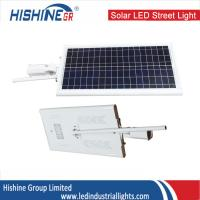 Wholesale Solar Powered LED Street Lights With Battery , 12V / 24V Solar Panel Street Lights from china suppliers