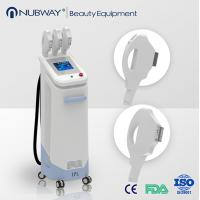 Wholesale IPL Hair Removal Bipolar / Three Handles IPL Skin Tightening Pore Remover Machine from china suppliers
