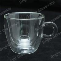 Wholesale espresso cups, double wall thermo glasses, blown glass coffee cup, tea cup from china suppliers