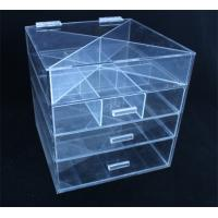 Quality NEW Acrylic Cosmetic Organizer Drawer Makeup Case Storage Insert Holder Desk Box for sale