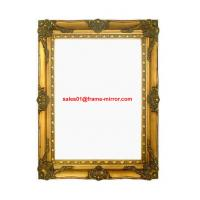 Buy cheap antique classical wood mirror frame from wholesalers