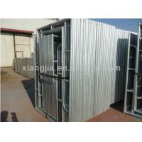Wholesale 1829*1930mm H Frame Scaffolding for American Market from china suppliers