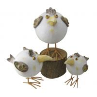 Wholesale Handcrafted Garden Sculptures And Ornaments , Chicken Garden Ornaments from china suppliers