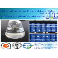 Wholesale Organic Plasticizer Fatty Alcohol Polyoxyethylene Ether AEO-9 For Detergents / Emulsifier from china suppliers