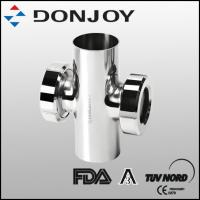 Wholesale Four way  Stainless Steel Sight Glass of zero dead conner desigh with rechargeable battery from china suppliers