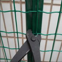 Wholesale Security galvanized and pvc coated euro fence panel from china suppliers