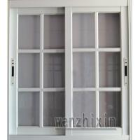 Wholesale 1.4mm profile thickness security white material aluminum sliding windows with grid window from china suppliers