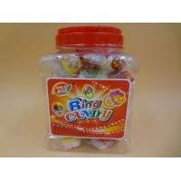Wholesale Ring Toy Compressed Candy With Dextrose Yellow / White / Green Color from china suppliers